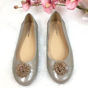 Comfort view woman's flats shoes SZ 9W